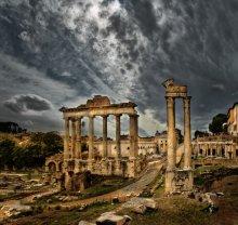 Roma_03 / Римский форум.  Два горизонтальных кадра