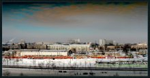 Минск. Трамвайное депо. / Вид с 6 этажа род.дома.