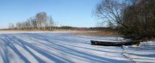 струсто зимой / на Браславских озерах