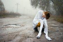 ...на свободе / Анастасия Карандашова. Фотограф.  Утро. Холод. Мечты. Где-то в Калараше 2008
