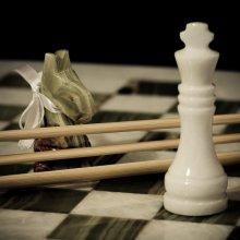 of fence / шахматная игра в слова, назовем это -  'chessword' :) ps. ход белых, королева в безопасности.