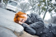 По дороге в Лондон / Сегодня Настенька (любимый фотограф) проспала на самолёт в Лондон. Мой Псих Обоб!!! ... но всёже улетела следующим рейсом. Мягкой посадки)