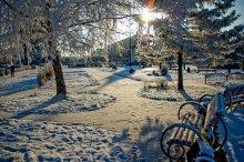 Городской этюд зимы / декабрь 2008