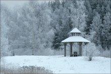 ... где Пушкин отдыхал ... / беседка в Усадьбе Петровское, первоначально усадьбе деда Пушкина Ганнибала (не того людоеда :) )