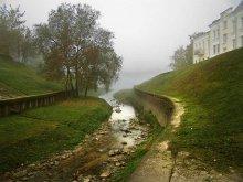 Устье / Витьбы, где она впадает в Эридан