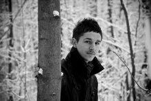 обычный день в зимнем лесу / ************