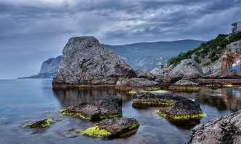 Большие камни. / Чёрное море.