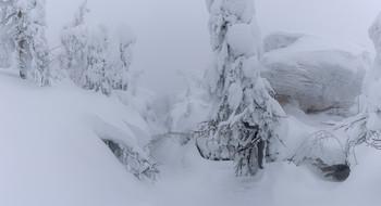Зима / Зима в Каменном городе. Пермский край.