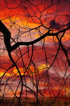 """""""Тревожный закат"""" / Традиционно, но несколько по-своему..."""