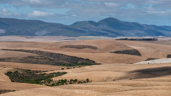 Полуденный зной на холмах / Долина Кару, Южная Африка