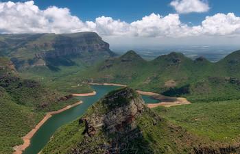 Река Блайд / Каньон р.Блайд, Южная Африка