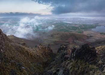 Вид с Кетитля / Исландия