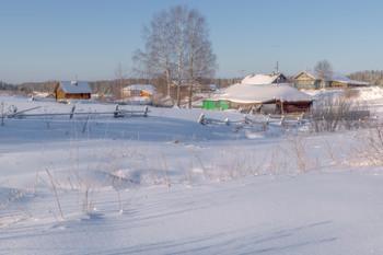 Зима в деревеньке... / Старинное село Сырьяны. Кировская область.