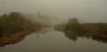 Про то,как утренний туман ,за поворот старицы прятался... / весна...)