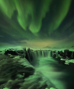 Небесный свет / Исландия.
