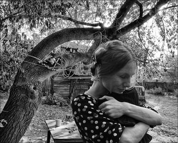 """В старом дворике Кургана / Из серии """"Старые дворики"""""""