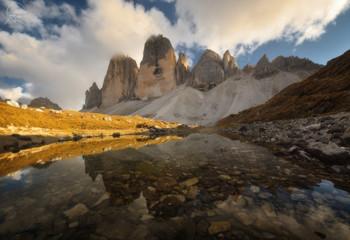 Tre Cime di Lavaredo / Доломиты, Италия
