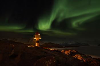 / Aufgenommen am Leuchtturm auf den Lofoten