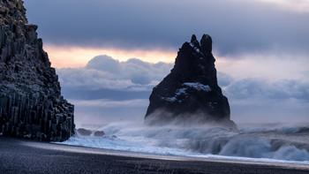 Black Sand Beach / Исландия