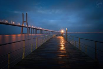 Vasco Da Gama bridge / Португалия