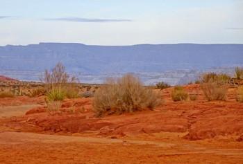 за дымкой / земья Апачи, Аризона, США