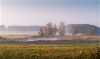 Классика тумана / Пейзаж Беларуси