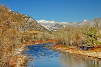 Анимас / река Анимас, город Дюранго, Колорадо, США