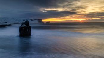 Рейнисфьяра / Исландия в феврале