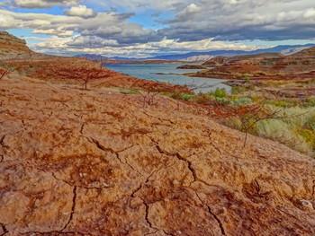 земля Невады / озеро Мид, Невада, США