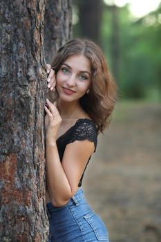 Ольга / Портрет красивой девушки