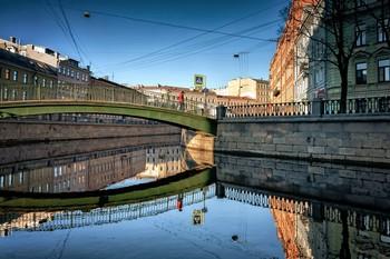 Садовый мост. / Петербург.