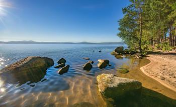 Солнечный берег / Озеро Таватуй