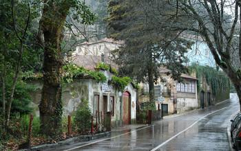 Синтра под дождем / Синтра, Португалия