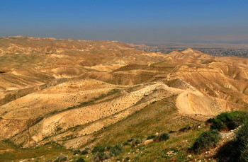 Иудейская пустыня / Иудейская пустыня - пустыня на Ближнем Востоке, располагающаяся на территории Израиля и Западного берега реки Иордан