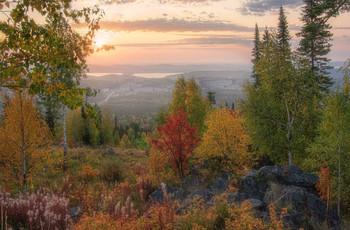 Осенний пейзаж / Осень на Урале