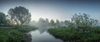 Утро на озере / Ранним утром на озере Круглое