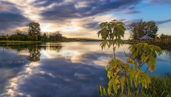 Вечернее озеро / Уральские озера