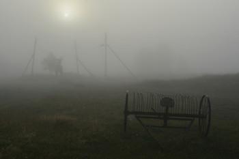 """""""Туманище по Божьей воле ..."""" / """"Я хочу заблудиться в тумане,  В диком поле, от всех вдалеке.  Без единой монеты в кармане,  Со стихами в озябшей руке ..."""""""