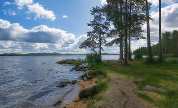Берег озера Таватуй / Уральские озера