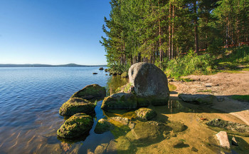 Берег озера / Озеро Таватуй
