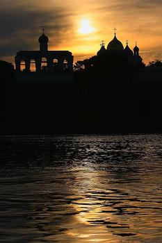 Закат в Великом Новгороде !!! / Путешествие.