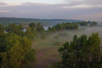 Утренний пейзаж / лето началось