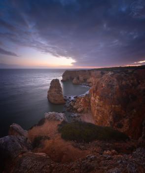 Praia da Marinha / Португалия