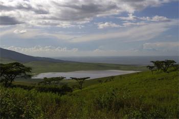В кратере Нгоронгоро / Танзания