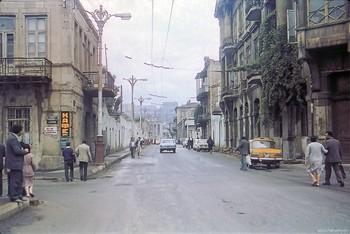 Улица Басина / Баку 1987.