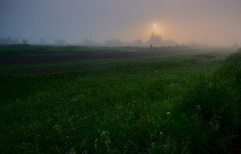 Утро в деревне / ***