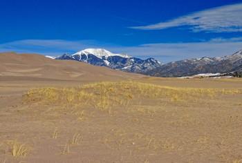 пески / Great Sand Dunes National Park, Colorado, USA