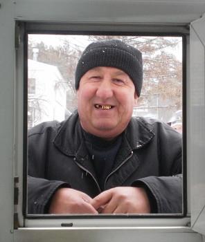 портрет в окне / покупатель