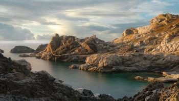 В вечерний час / Национальный парк Кап де Креус, Испания