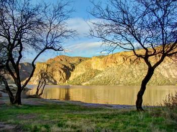Apache gold / Canyon Lake, Apache Junction, Arizona, USA